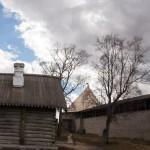 В крепости Старая Ладога.