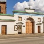 Успенский монастырь в Старой Ладоге. Святые Западные ворота.