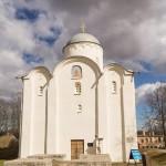 Старая Ладога. Успенский собор в Свято-Успенском монастыре.