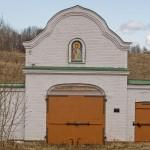 Успенский монастырь в Старой Ладоге. Восточные (Водяные ворота).