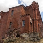 Успенский монастырь в Старой Ладоге. Крестовоздвиженская церковь.