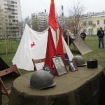 Палатки.  9 мая в сквере Льва Мациевича.