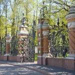 Ворота Михайловского сада.