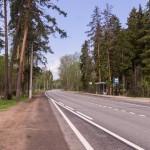Приморское шоссе в Репино.