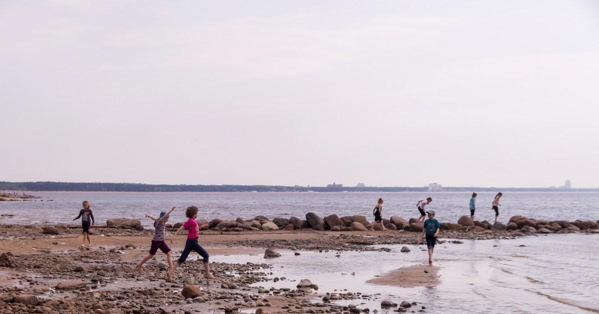 Фото эротика на берегу финского залива 6 фотография
