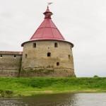Крепость Орешек. Головина башня.