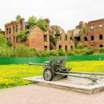 Шлиссельбургская крепость Орешек. На мемориале в честь обороны крепости в 1941-1943 годах.