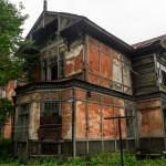 Заброшенные дачи в Ольгино.