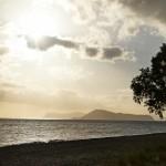 В Малеме рано утром. Остров святого Федора.