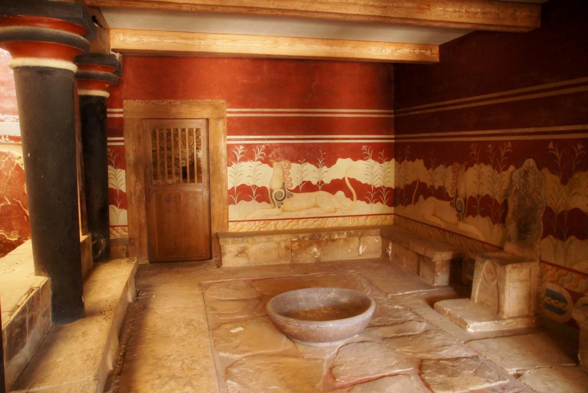 Кносский дворец – сердце минойской цивилизации