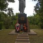 Памятник у разъезда Набокино в окрестностях Старого Оскола.