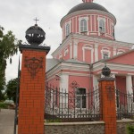 В Старом Осколе. У Крестовоздвиженской церкви в Ямской слободе.