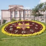 Часы в Александровском парке.