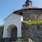 Приозерск. Ворота в Круглую башню крепости Корела.