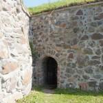 Приозерск. Выход из подземелья в крепости Корела.