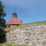 Приозерск. Стены крепости Корела.
