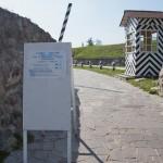 Приозерск. У входа в крепость Корела.