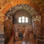 Приозерск. В выставочном зале (Старый арсенал) в крепости Корела.