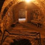 Приозерск. Подземный ход в Круглой башне крепости Корела.