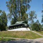 Приозерск. Танк ИС-3 образца 1945 года. У крепости Корела.