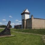 На Большом дворе Нарвского замка.