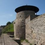 Юго-западная угловая башня в Нарвском замке.