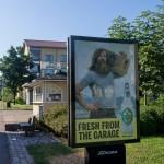 Суровая финская реклама в Котке.