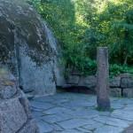 Котка. Каменный столб в парке Сапокка.
