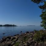 У Финского залива в Котке.