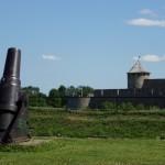 В Нарвском замке.