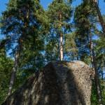 У Финского залива в Котке. Камни-исполины.