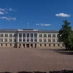 Южная Финляндия. Главное здание бывшей Императорской кадетской школы.