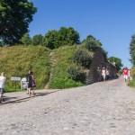 У крепости (Linnoitus) в Лаппеенранте.