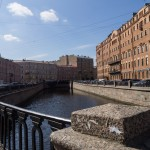 На канале Грибоедова. У Сенной площади.