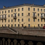 Набережная канала Грибоедова, 73. Дом, где жила Соня Мармеладова.