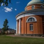 Южная Финляндия. Церковь апостолов Петра и Павла в Хамине.