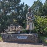 Южная Финляндия. Памятник Варваре у бастионов Хамины.