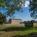 Южная Финляндия территория школы в Хамине.