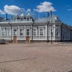 Южная Финляндия. Здание на Ратушной площади.