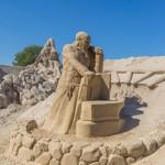 В Песчаном замке Лаппеенранты. Ильмаринен и Сампо.