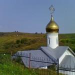 В Холковском монастыре. Надвратный храм.