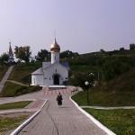 В Холковском монастыре. Церковь Антония и Феодосия Печёрских.