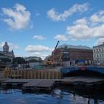 Реконструкция Синего моста. У Исаакиевской площади.
