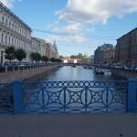 Вид на Мойку с Синего моста.