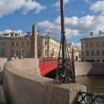 У Красного моста на Мойке.