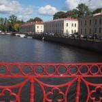 Вид на Мойку с Красного моста.