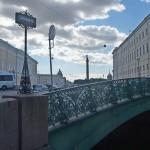 Певческий мост. У Дворцовой площади.