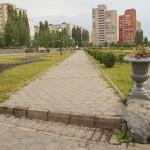 Старый Оскол. В сквере Пушкина в микрорайоне Королева.
