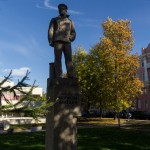Кронштадт. Памятник революционным морякам Балтики.