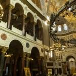 Кронштадт. Морской Никольский собор. Внутреннее убранство после реставрации.